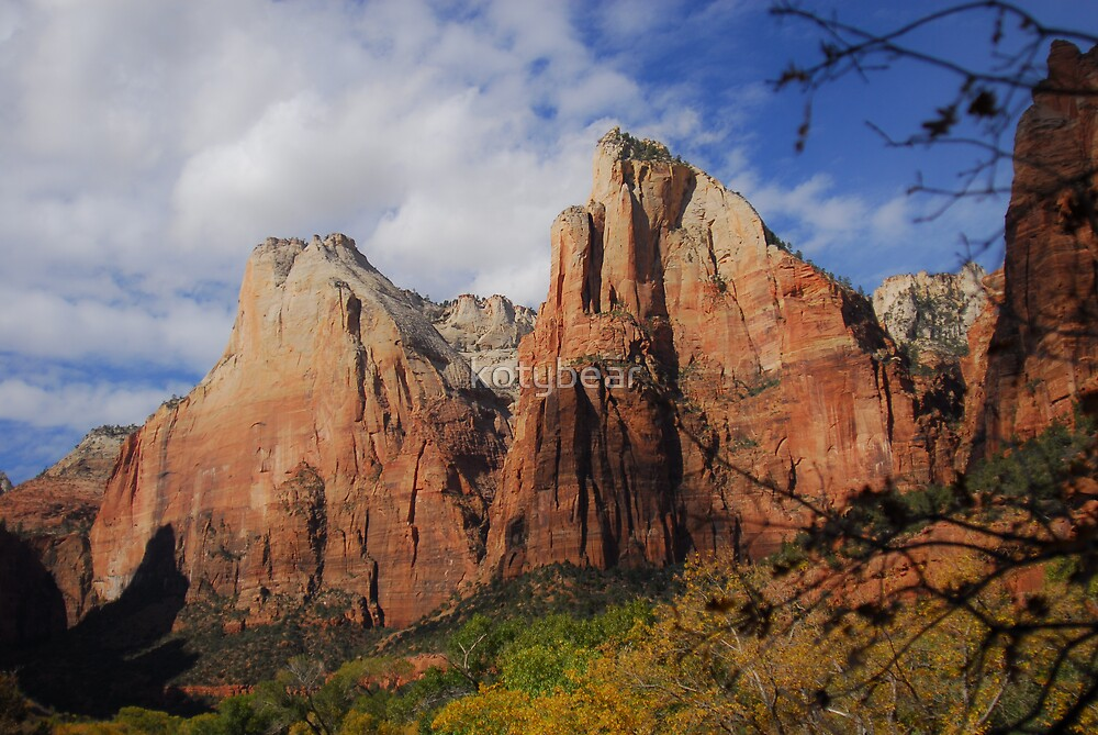 COURT OF THE PATRIARCHS - ZION NATIONAL PARK by kotybear