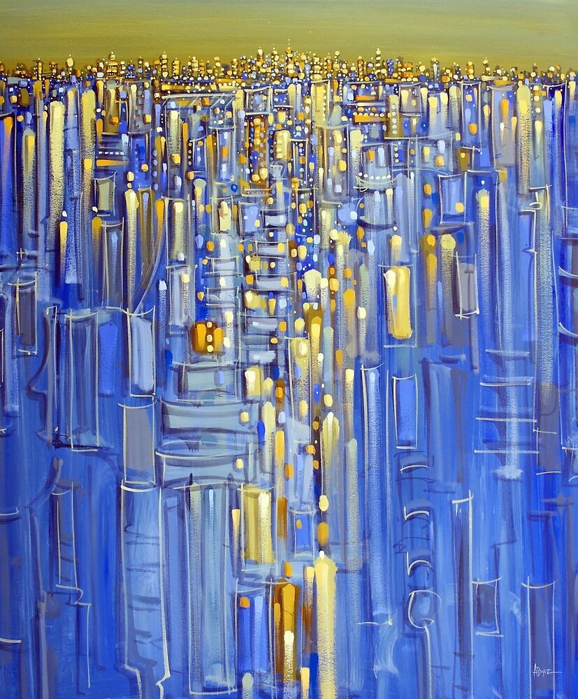 Dawn city by Adam Bogusz