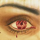 Bleeding heart by Elena Leong