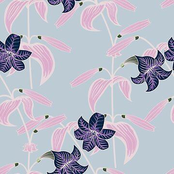 Lily pattern by TpuPyku