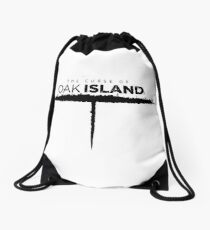 oak island Drawstring Bag