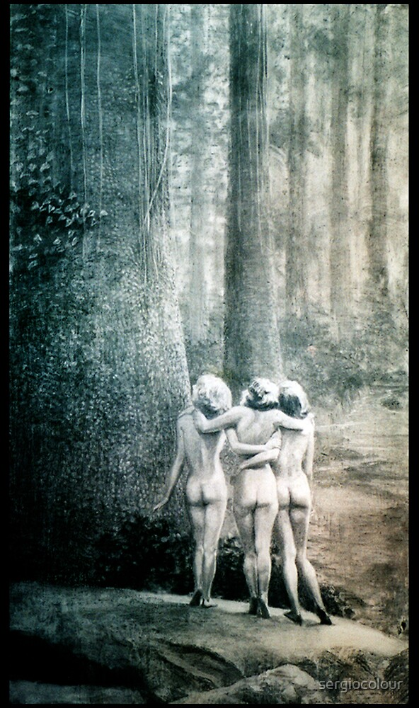 Three and the Tree by sergiocolour