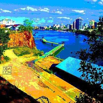 Brisbane River view, Paula Deacon PE by DeaconPE