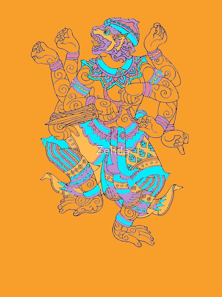 Thai Hanuman Monkey 2 by Zehda