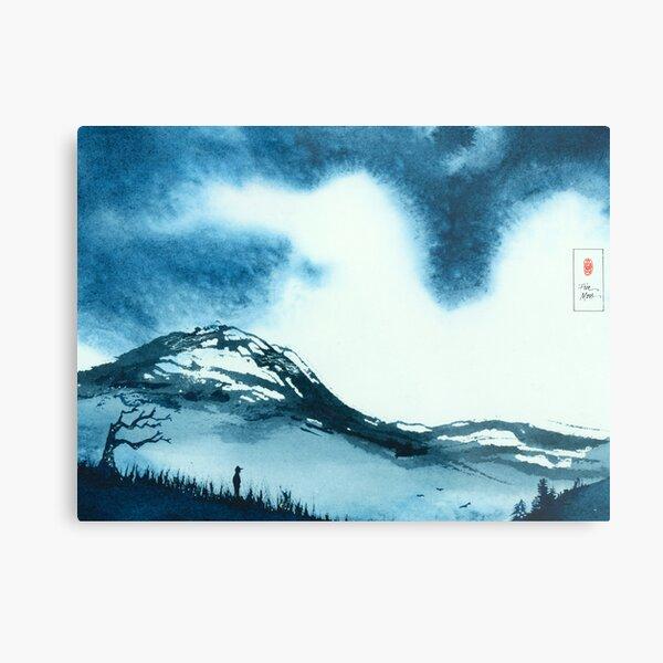 Blue Valley Metal Print