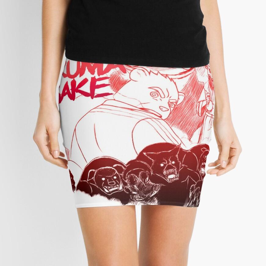 Akuma Sake Mini Skirt