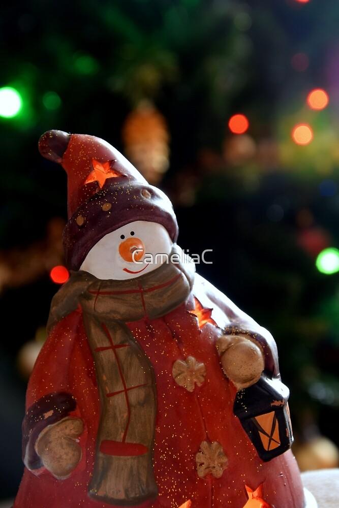 Christmas Snowman by CameliaC