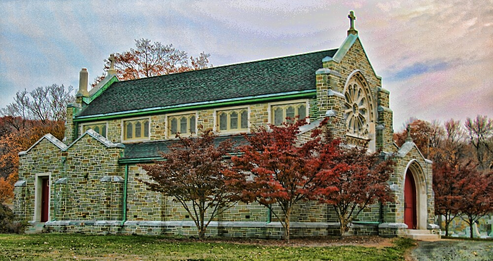 Old Stone Church by GPMPhotography