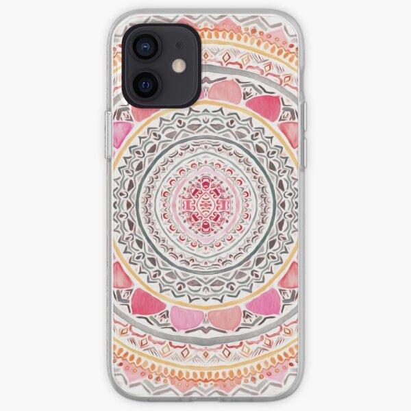 Pastel Bohemian Mandala iPhone Soft Case