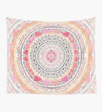 Pastell böhmische Mandala Wandbehang