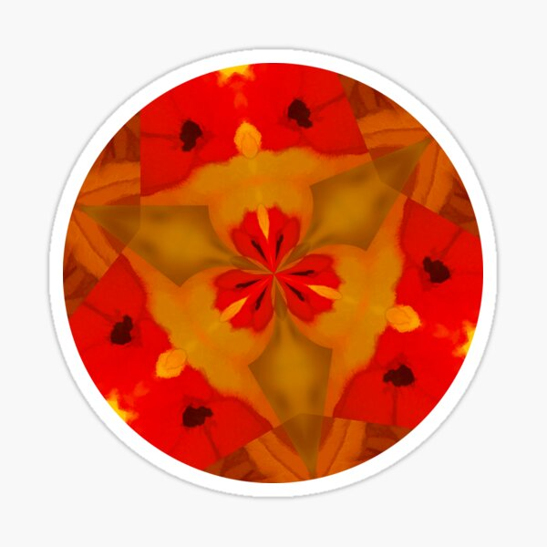 Poppy heaven  Sticker