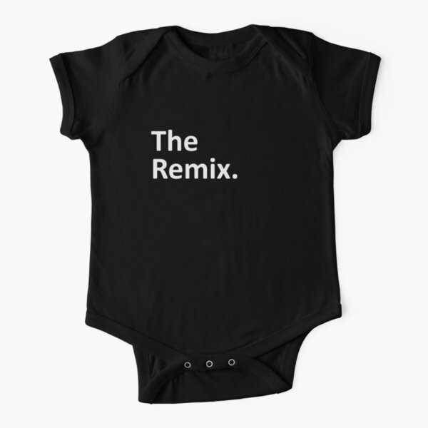 The Remix Matching Family Short Sleeve Baby One-Piece