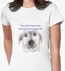 You can't buy love rescue dog T-Shirt