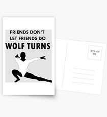 Wolf Turns Postcards