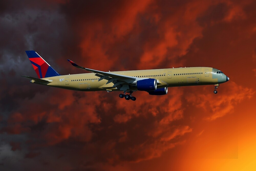 Delta Airlines Airbus A350-900 by Smart Aviation