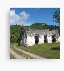 Abandoned in Rarotonga Canvas Print