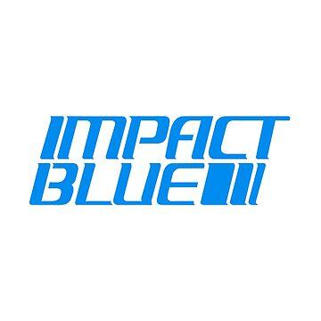 Impact Blue - Initial D by LukeOlfert