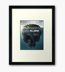 oak island Framed Print