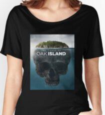 oak island Women's Relaxed Fit T-Shirt
