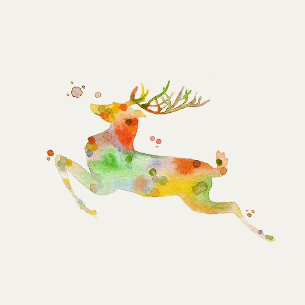 Reindeer by Nadjaa