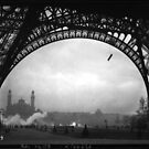 Eiffel Tower 1912 Photograph Paris, France by T-ShirtsGifts