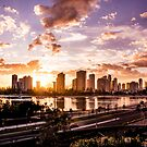 Gold Coast Skyline Sunrise by Jemma Ryan