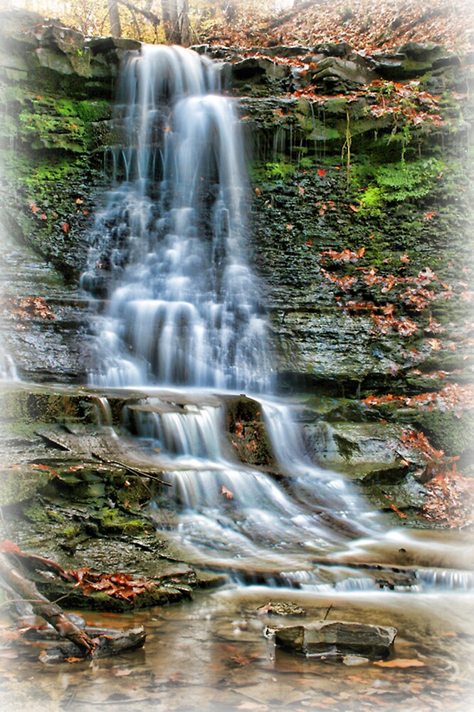 Peaceful Falls by GPMPhotography