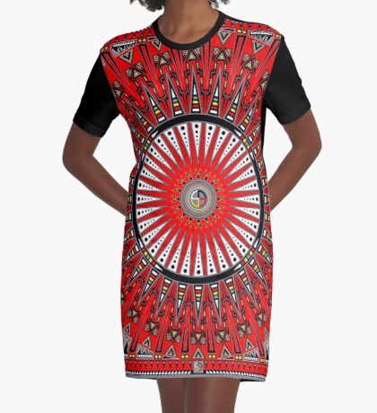 Thunderbirds Graphic T-Shirt Dress