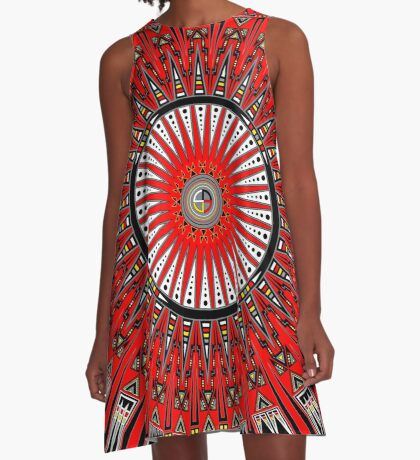 Thunderbirds A-Line Dress