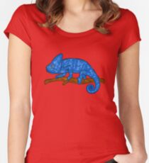 Camäleon Tier Women's Fitted Scoop T-Shirt