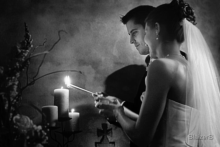 Lighting Candles by BlaizerB