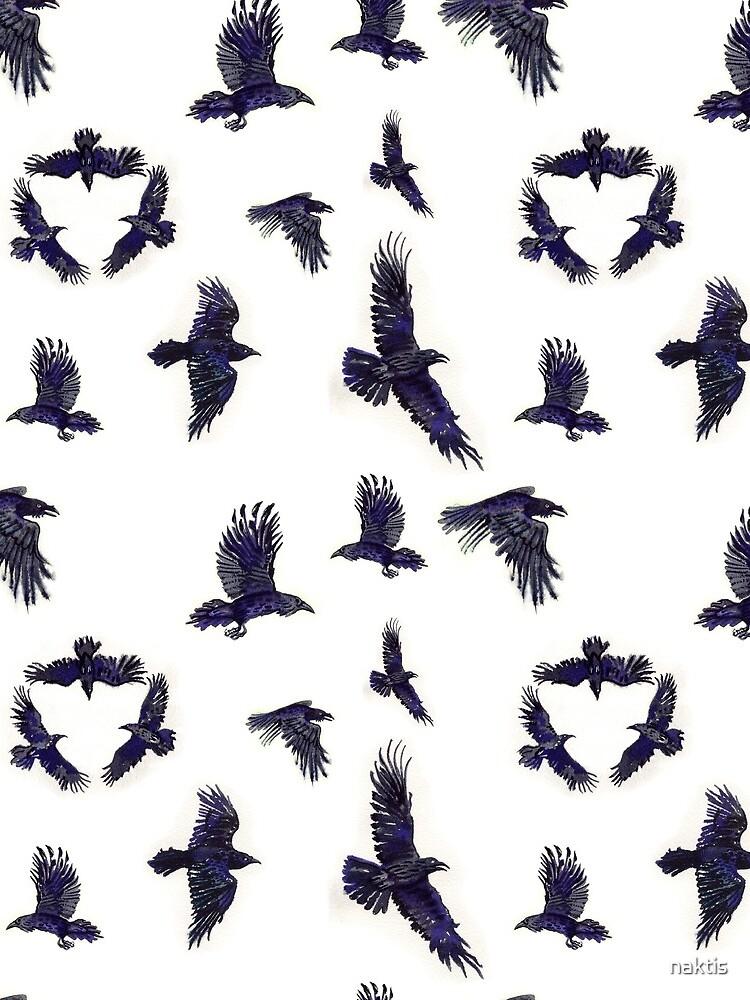 flock of ravens by naktis