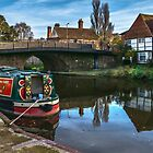 Hungerford Wharf in West Berkshire by IanWL