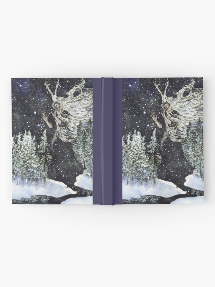 Alternate view of winter witch Hardcover Journal