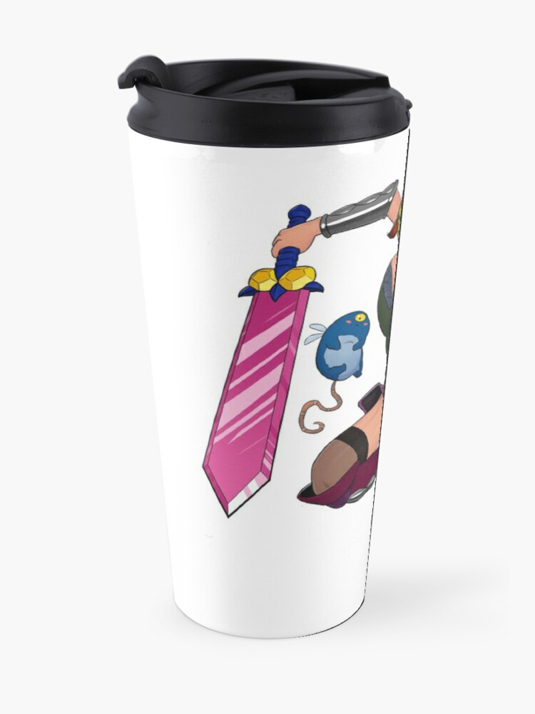 Alternate view of Lusty Attack - Full colour Travel Mug