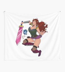 Lusty Attack - Full colour Wall Tapestry