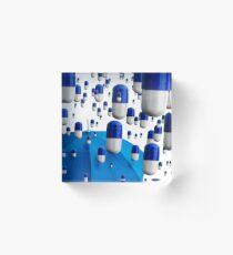 The Blues Acrylic Block