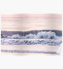 Sunrise waves  Poster