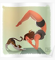 Yoga Time Poster