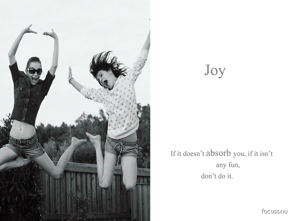 Joy by focusonu