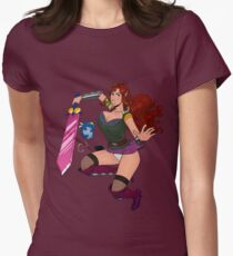 Lusty Attack - Full colour Women's Fitted T-Shirt