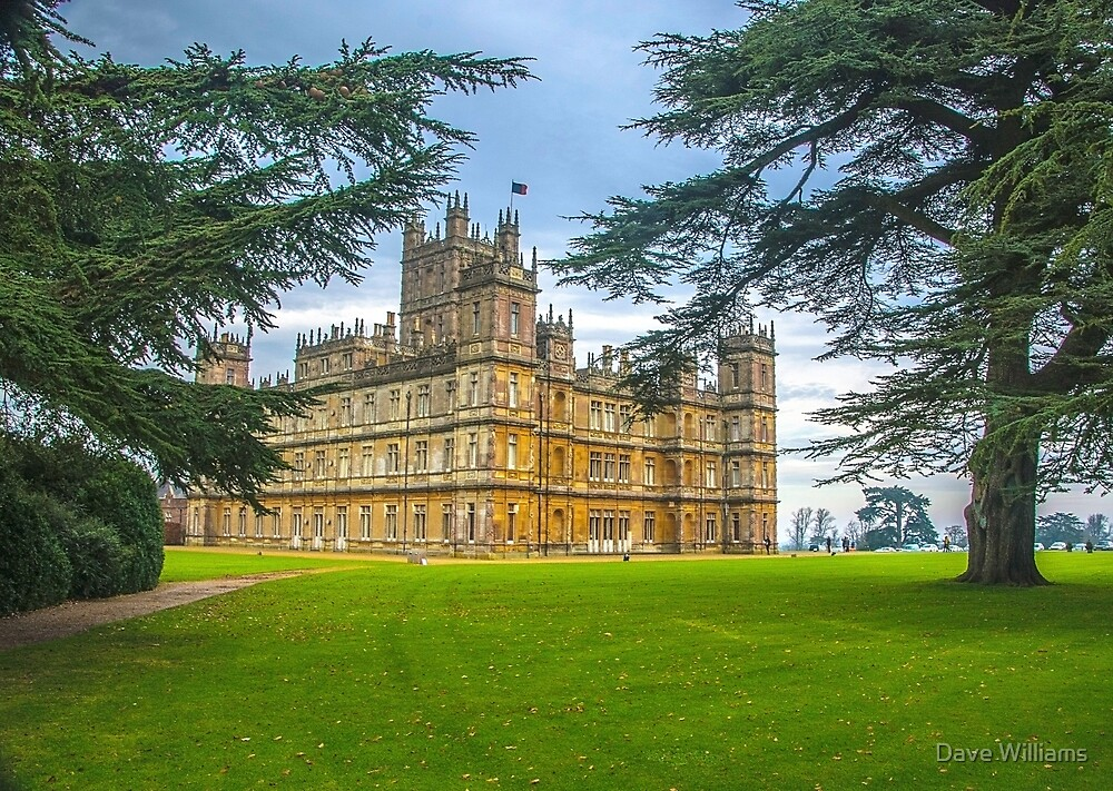 Downton Abbey - Highclere Castle by Dave Williams