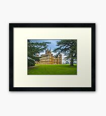 Downton Abbey - Highclere Castle Framed Print