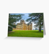 Downton Abbey - Highclere Castle Greeting Card