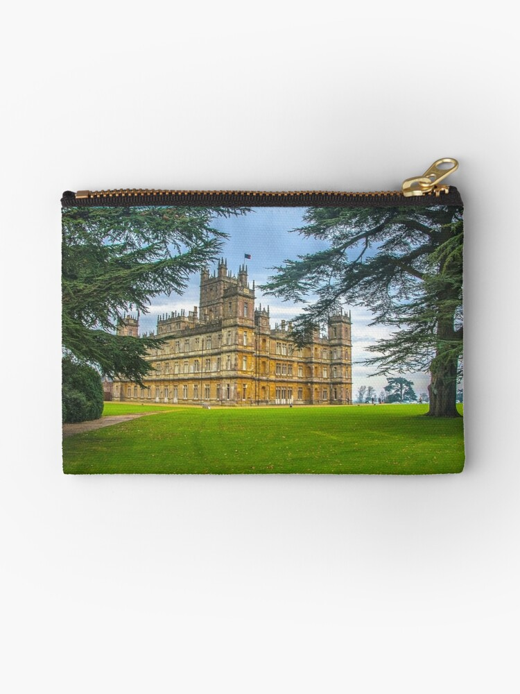 Downton Abbey Highclere Castle Zipper Pouch By Djwphotography