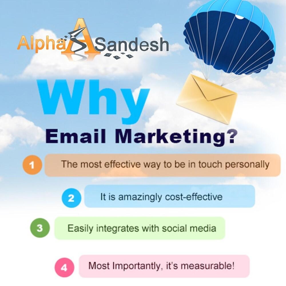 Bulk Email Marketing Solutions by Alpha Sandesh