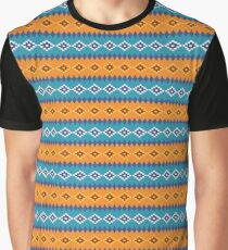 American Native Pattern Graphic T-Shirt