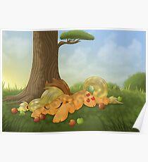 Sleeping Applejack Poster