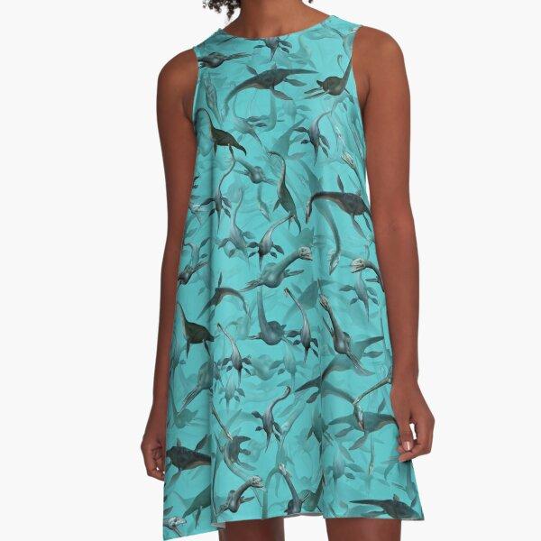 Loch ness monsters A-Line Dress