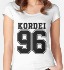 Fifth Harmony - Normani Kordei ' 96 Women's Fitted Scoop T-Shirt